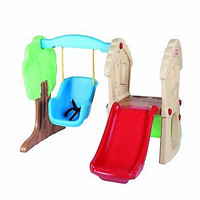 Little Tikes Hide and Seek Climber Swing Set Slide Fun Family Kids