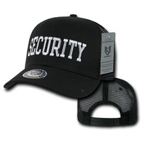 Back to the Basics Mesh Secuirty Black Cap