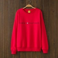 Tommy Hilfiger Woman Men Top Sweater Pullover G-1