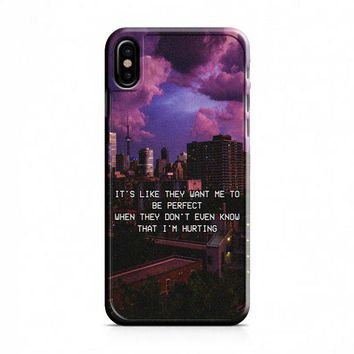 Justin Bieber (follow) iPhone X Case