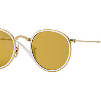 Ray-Ban ROUND FOLDING Gold, RB3517 | Ray-Ban® USA
