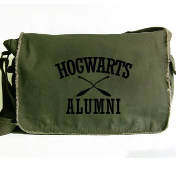Hogwarts Alumni Harry Potter Large Messenger Bag