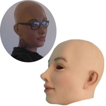 Mask Female Latex Mask - Free Shipping