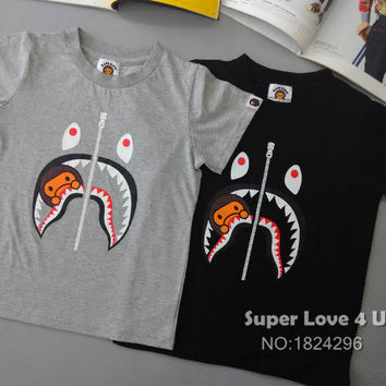 Summer Fashion Shark/Baby Milo T Shirt Family Matching Dress/Clothes/Outfits For Dad/Mom/Son/Daughter/Women/Men/Kids/Boys/Girls