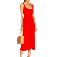 Mara Hoffman Vita Knit Dress in Red | FWRD