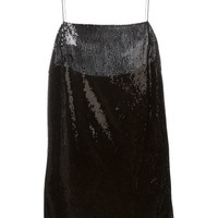 Saint Laurent Sequinned Camisole Dress - L'espionne - Farfetch.com