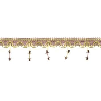 Fabricut Trim 3961429 Jewelry Lavender Twist