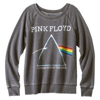 Junior's Pink Floyd Graphic Sweatshirt