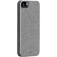 Case Mate New Glam Case for Apple iPhone 5 5s hard cover shimmer silver