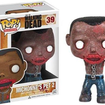 Walking Dead Michonne's Pet 2 Zombie Pop Vinyl Figure