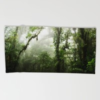 Cloud Forest Beach Towel by Nicklas Gustafsson