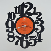 Vinyl Record Album Wall Clock (artist is Ted Nugent)