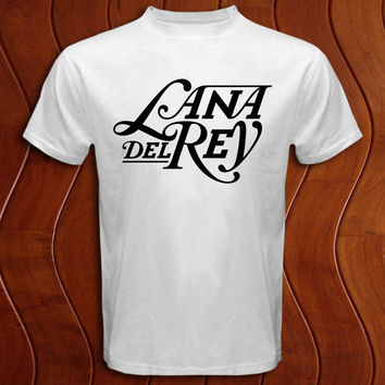 Lana Del Rey logo Shirt Men and Women T Shirt More Size Available