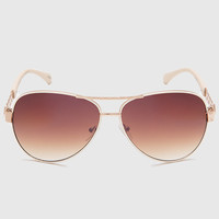 Saralyn Aviators - Ivory - One Size / Ivory