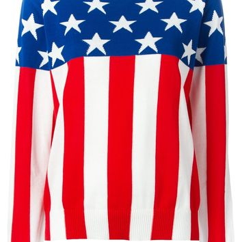 Love Moschino American flag sweater