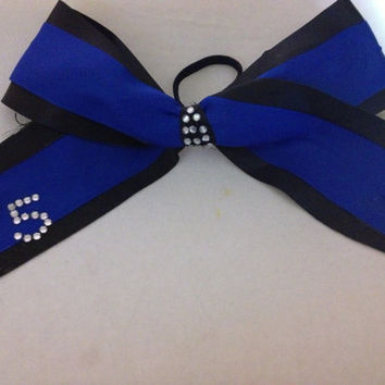 F5 Maryland Twisters Cheer Bow by BowsByPros on Etsy