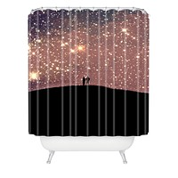 Shannon Clark Stargaze Shower Curtain