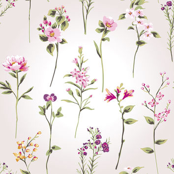 Stems Removable Wallpaper