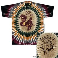 Bob Dylan Deal Tour Tie Dye T Shirt on Sale for $23.95 at The Hippie Shop