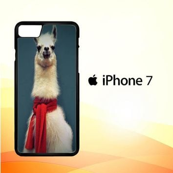 Animal Llama V0256 iPhone 7 Case
