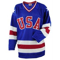Miracle on Ice® USA Hockey 1980 Replica Away Jersey - ShopUSAHockey.com