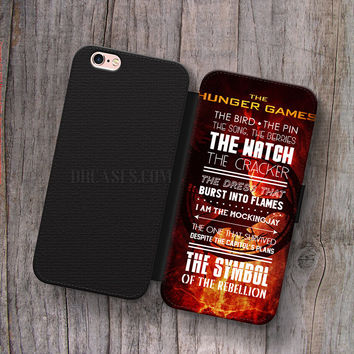 Wallet Leather Case for iPhone 4s 5s 5C SE 6S Plus Case, Samsung S3 S4 S5 S6 S7 Edge Note 3 4 5 quote caching fire Cases