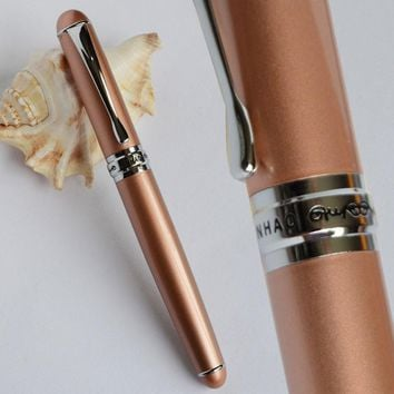 JINHAO X750 COPPER AND SILVER ROLLER BALL PEN EXECUTIVE JINHAO 750 LUXURY BLACK BLUE PURPLE 15 COLORS FOR CHOICE BUSINESS OFFICE