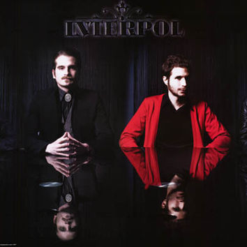 Interpol Black Reflections Poster 24x36