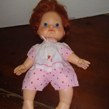 vintage 1982 strawberry shortcake blow kisses baby doll