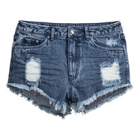 H&M Denim Shorts High Waist $24.99