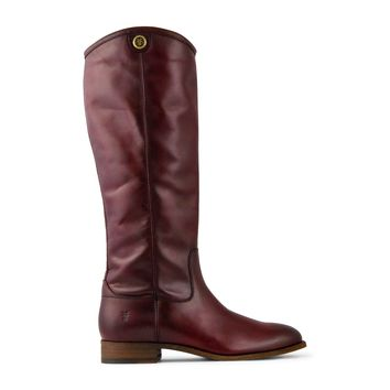 Frye Melissa Button 2 Tall Boot Women's - Wine