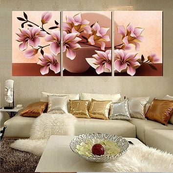 Home Decor Canvas Painting Abstract City Street Landscape