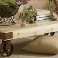 Pine Cart Table from Through the Country Door