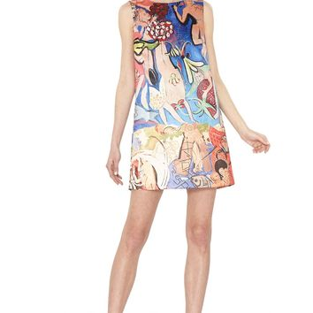 alice + olivia | DOMINGO SHIFT DRESS