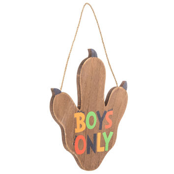 Boys Only Dino Paw Wood Wall Decor | Hobby Lobby | 1469279