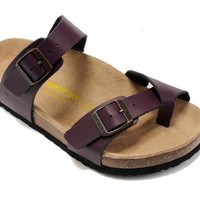 Birkenstock Mayari Sandals Leather Purple