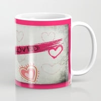 Lover Mug by Jessica Ivy