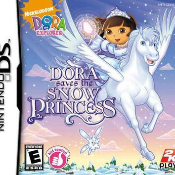 Dora the Explorer: Dora Saves the Snow Princess (Nintendo DS, 2008)