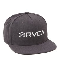RVCA Hexer Snapback Hat - Mens Backpack - Black - One