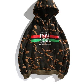 Cotton Sports Camouflage Hats Hip-hop Hoodies [1573979029597]