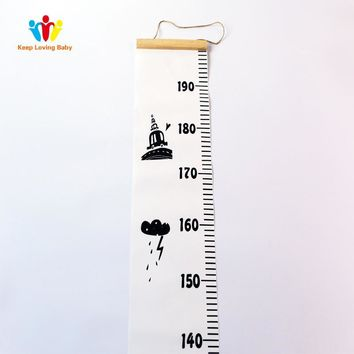 Cool Baby Bed Sets Kid Room Decor Accessories Height ruler for children Boys Girls Photography Props Gift Baby Bedding AccessoriesAT_93_12