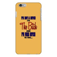 miss bitch iPhone 6/6s Plus Case