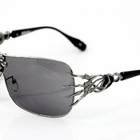 AFFLICTION SUNGLASSES BLADE GUNMETAL BLACK