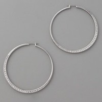 Michael Kors Uptown Punk Whisper Hoops