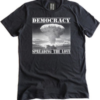 Democracy Spreading the Love Premium Dual Blend T-Shirt