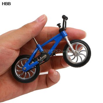 Finger Alloy Bicycle Model Mini MTB BMX Fixie Bike Boys Toy Creative Game Gift  #T026#