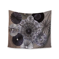 "Heidi Jennings ""Shadows"" Dark Circles Wall Tapestry"