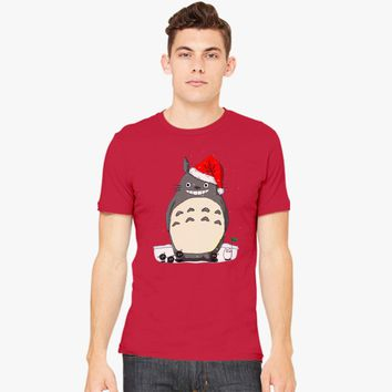 Totoro Christmas Santa Men's T-shirt | Customon.com