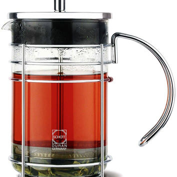 GROSCHE MADRID Premium french Press Coffee and Tea maker with German SCHOTT-D...