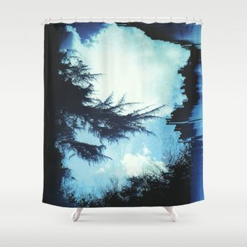 In the Wind Shower Curtain by Ducky B